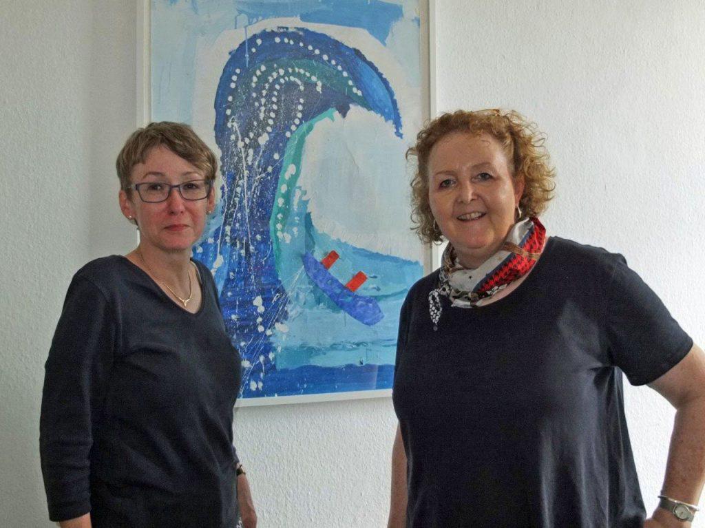 Dr Reinhard mit Frau Becker
