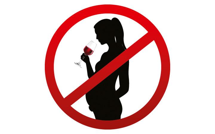 Kein Alkohol in der Schwangerschaft